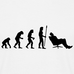 evolution_chiller1 T-Shirts - Männer T-Shirt