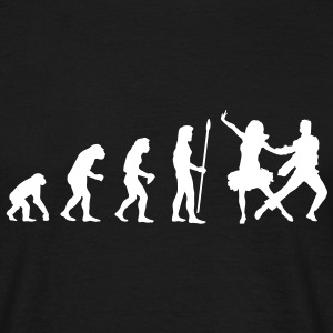 evolution_dancer1 T-Shirts - Männer T-Shirt