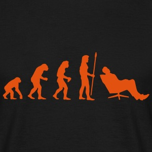 evolution_chiller1 T-Shirts - Men's T-Shirt