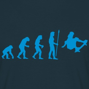 evolution_skateboard1 T-Shirts - Men's T-Shirt