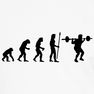 evolution_bodybuilding1 T-Shirts - Men's Ringer Shirt