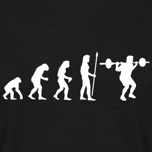 evolution_bodybuilding1 T-Shirts - Men's T-Shirt