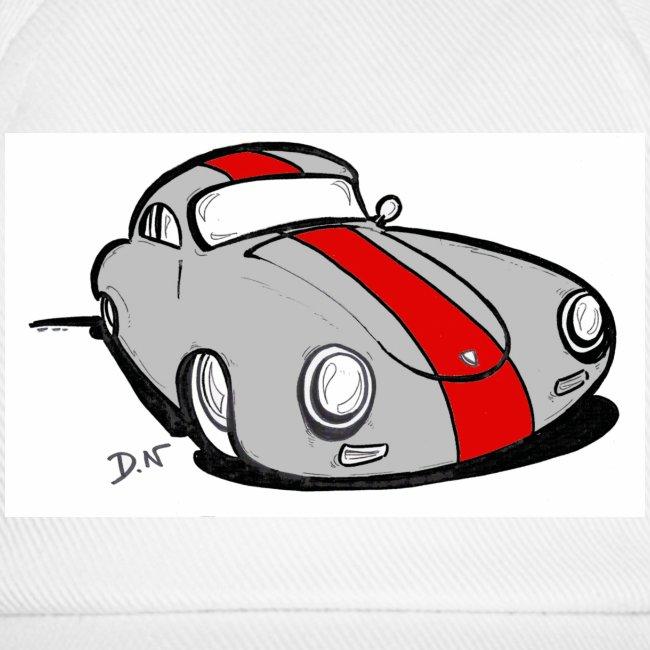 "1G3 Casquette motif ""356 racing 3"""