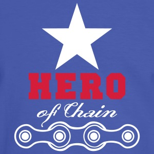 hero of chain - Männer Kontrast-T-Shirt