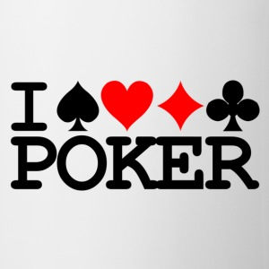 Mug I love Poker - Tasse