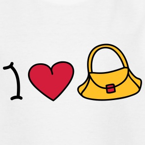 I love handbags Kids' Shirts - Teenage T-shirt