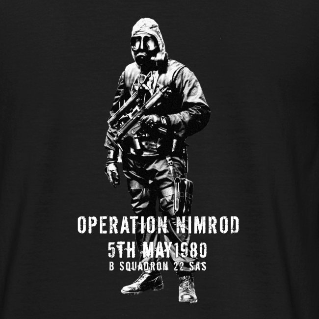 SAS Nimrod Tribute
