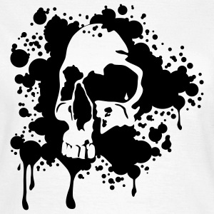 Blood Skull T-Shirts - Frauen T-Shirt