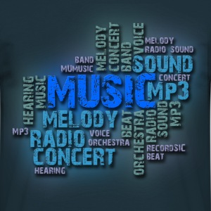 Music - Herre-T-shirt