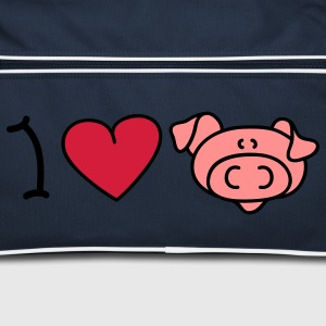 I love pigs Tassen - Retro-tas