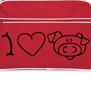 I love pigs Sacs - Sac Retro