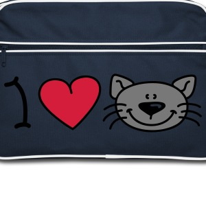 I love cats Mochilas - Bandolera retro