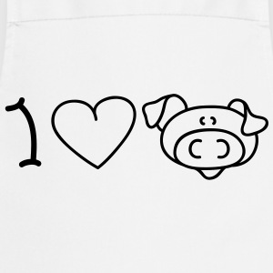 I love pigs Kookschorten - Keukenschort