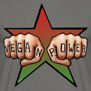 Vegan Power Tattoo T-Shirts - Männer T-Shirt