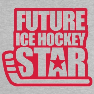'Future Ice Hockey Star' Baby T-Shirt - Baby T-Shirt