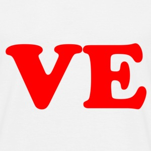 ve - love part 2 - Männer T-Shirt