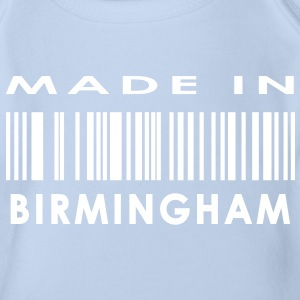 Made in Birmingham Baby Bodysuits - Organic Short-sleeved Baby Bodysuit