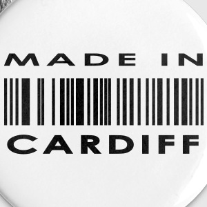 Made in Cardiff Buttons - Buttons large 56 mm