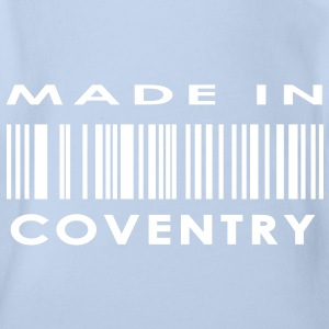 Made in Coventry Baby Bodysuits - Organic Short-sleeved Baby Bodysuit