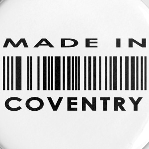 Made in Coventry Buttons - Buttons large 56 mm
