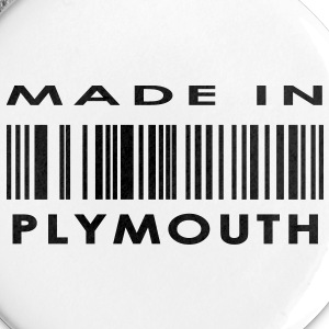 Made in Plymouth Buttons - Buttons large 56 mm