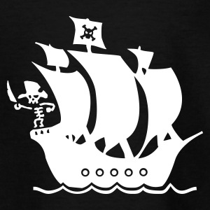 piratskib T-shirts - Teenager-T-shirt
