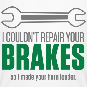 Repair Your Brakes 1 (dd)++ T-shirts - Ekologisk T-shirt herr