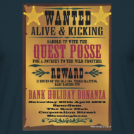 Design ~ Quest Wanted Alive & Kickin 30/04/94 flyer