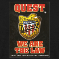 Design ~ Quest We are the Law 26/08/95 flyer
