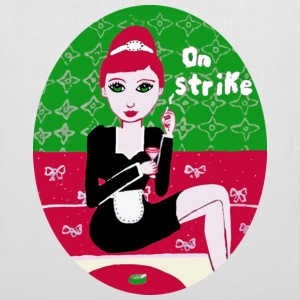 On strike  - Stoffbeutel