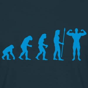 evolution_bodybuilding2 T-Shirts - Männer T-Shirt