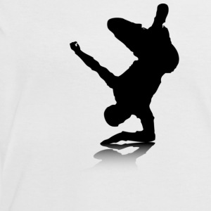Breakdancer (on elbow) - Women's Ringer T-Shirt