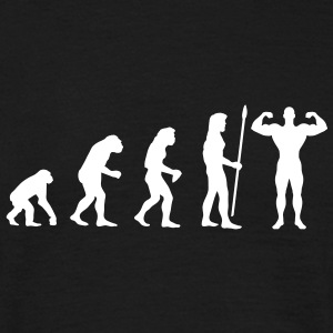 evolution_bodybuilding2 T-Shirts - Men's T-Shirt