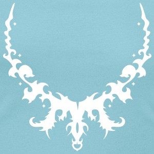 Ornamental arch with crown T-Shirts - Women's Scoop Neck T-Shirt