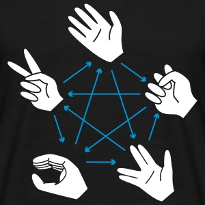 Rock-Paper-Scissors-Lizard-Spock - Männer T-Shirt