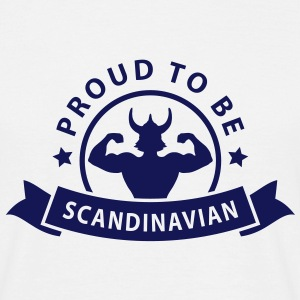 proud to be scandinavian T-skjorter - T-skjorte for menn