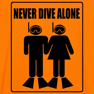 Never Dive Alone Dos- Imp.Flex - T-shirt contraste Homme