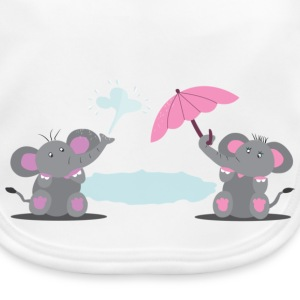 Elephants Accessories - Baby Organic Bib
