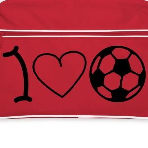 I love football Tassen - Retro-tas