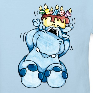Happy Birthday, Hippo! T-shirts Enfants - T-shirt Bio Enfant