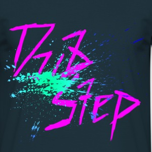 Dubstep Green Splash T-Shirts - Männer T-Shirt