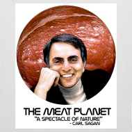 Design ~ The Meat Planet Tote Bag