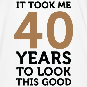 40 Years To Look Good 1 (dd)++ T-shirt - T-shirt ecologica da uomo