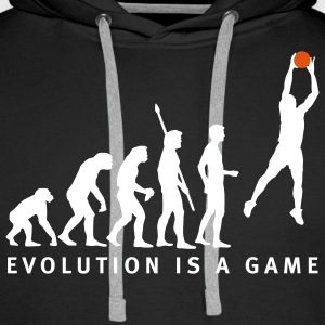 evolution_basketball_062011_b_2c Sweat-shirts - Sweat-shirt à capuche Premium pour hommes