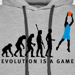 evolution_basketball_062011_b_3c Sweat-shirts - Sweat-shirt à capuche Premium pour hommes