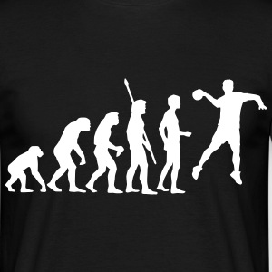 evolution_handball_062011_a_1c T-shirts - Mannen T-shirt