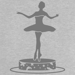Music box with ballerina figure Baby Shirts  - Baby T-Shirt