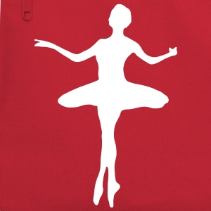 Ballet dancer with Ballet Dress  Bags  - Retro Bag