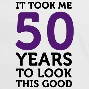 50 Years To Look Good 1 (2c)++ T-shirts - T-shirt contraste Femme