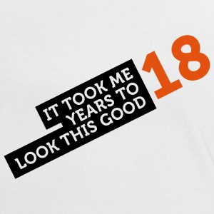 18 Years To Look Good 2 (2c)++ T-shirts - Vrouwen contrastshirt